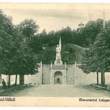 263 - Rm. VALCEA, Independence Monument, Firemen Tower - old postcard - unused