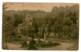 784 - Arges, PITESTI, Parcul si Pavilionul Trivale - old postcard - used, Circulata, Printata