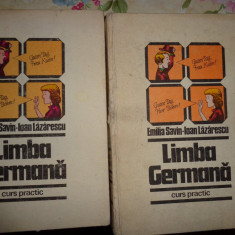 Limba germana ( curs practic, 2 volume)-Emilia Savin, Ioan Lazarescu - Curs Limba Germana