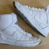 Ghete Nike Blazer Mid Metro, piele naturala; marime 36.5 (23.5 cm talpic) - Gheata dama Nike, Culoare: Din imagine