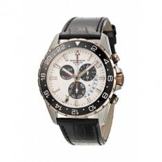 Ceas Romanson barbatesc cod AL0340B MW-WH - pret vanzare 959 lei; NOU; ORIGINAL; ceasul este livrat in cutie si este insotit de garantie - Ceas barbatesc Romanson, Casual, Quartz, Inox, Piele, Alarma