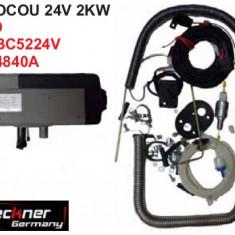 Kit Sirocou Breckner 24V 2 KW - Incalzitor stationar auto - Heater, Universal