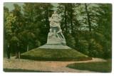 306 - Rm. VALCEA, Monumentul STIRBEY, Park Zavoi - old postcard - used - 1919, Circulata, Printata