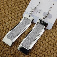 Cercei Fashion Placati Argint - Model Foarte Frumos Pentru Orice Varsta