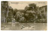 114 - Rm. VALCEA, lacul din Zavoi - old postcard - used - 1937