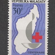 Madagascar.1963 100 ani Crucea Rosie SM.747 - Timbre straine