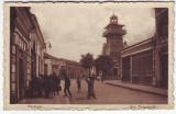 348 - BAZARGIC, street - old postcard, CENSOR - used - 1917