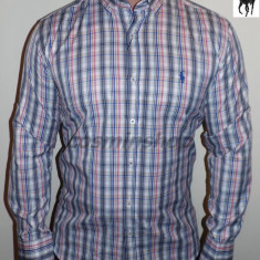 Camasi POLO RALPH LAUREN in Dungi - Slim Fit - Rosu / Galben - Model NOU !!!