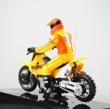 SUPER MOTOCICLETA MOTOCROSS CU TELECOMANDA R/C,DIE CAST METAL,SCARA 1:12.MOTOCICLETA RADIOCOMANDA.