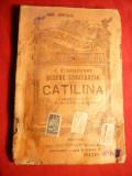 CC.Sallustius -Despre conjuratia lui Catilina , BPT 890-890 bis cca.1915