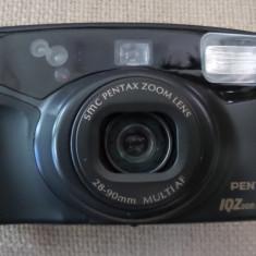 PENTAX-IQZOOM 928 Panorama pentru colectionari aparat cu film in pefecta stare de functionare, remote control, cutie, husa, baterii de rezerva. - Aparat Foto cu Film Pentax