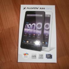 Tableta Allview AX4 nano, 7 inch, 4 Gb, Wi-Fi + 3G, Android