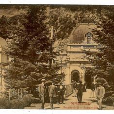 602 - Banat, Baile HERCULANE - old postcard - used - 1908 - Carte Postala Banat 1904-1918, Circulata, Printata