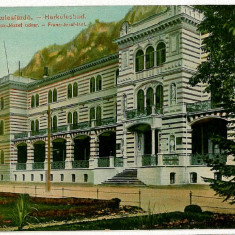 595 - Banat, Baile HERCULANE - old postcard - unused - Carte Postala Banat 1904-1918, Necirculata, Printata