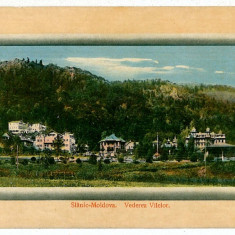 422 - Bacau, SLANIC MOLDOVA - old postcard - used - 1913 - Carte Postala Moldova 1904-1918, Circulata, Printata