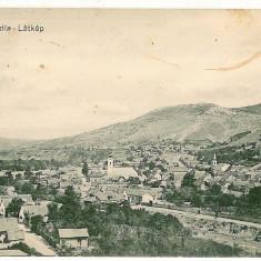 631 - Caras Severin, MEHADIA, Panorama - old postcard - used - 1911 - Carte Postala Banat 1904-1918, Circulata, Printata