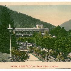606 - Banat, Baile HERCULANE - old postcard - used - 1910 - Carte Postala Banat 1904-1918, Circulata, Printata