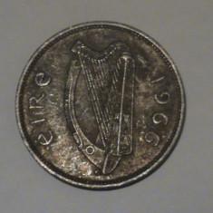 1/2 pingn (scroafa cu purcei) Irlanda 1966