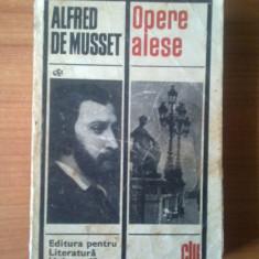 H1 Opere Alese - Alfred De Musset - Roman, Anul publicarii: 1969