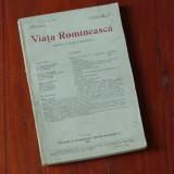 revista Viata Romaneasca - anul XIII / nr 10 / 0ctombrie 1921 -  184 pagini !!!!