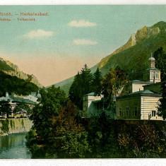 598 - Banat, Baile HERCULANE - old postcard - unused - Carte Postala Banat 1904-1918, Necirculata, Printata