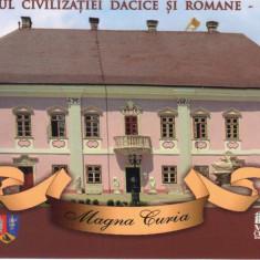 Carte postala CP HD035 Deva - Muzeul Civilizatiei Dacice si Romane, Necirculata, Printata