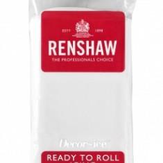 Pasta de zahar (fondant / icing / martipan) ALB - Renshaw Pro Anglia - Produse pentru copt