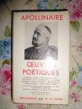 Oeuvres poetiques (editie de lux/ Pleiade)- Apollinaire