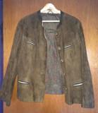Jacheta de dama, din piele nabuk, mas. L, Maro