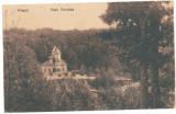 829 - Arges, PITESTI, Trivale Park - old postcard - used - 1919, Circulata, Printata