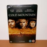 Film DVD - Cold Mountain - Collector's Edition ( STEELBOOK ) - de colectie - Film Colectie, Engleza