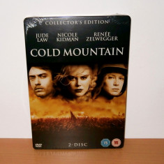 Film DVD - Cold Mountain - Collector's Edition ( STEELBOOK ) - de colectie - Film Colectie, Engleza