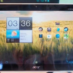 Vand Acer Iconia Tab a210, 16 GB, aproape noua, baterie 8 ore - Tableta Acer, Wi-Fi, Android