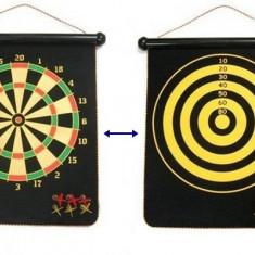Joc Darts Magnetic mare cu suprafata dubla de joc - Dartboard