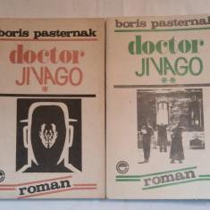 BORIS PASTERNAK - DOCTOR JIVAGO Vol.1.2. - Roman, Anul publicarii: 1991