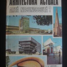 JEAN MONDA - ARHITECTURA ACTUALA ARTA NECUNOSCUTA?