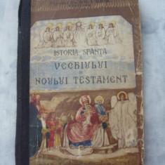 Istoria sfanta a Vechiului si Noului Testament pentru clasa I secundara - Carti bisericesti