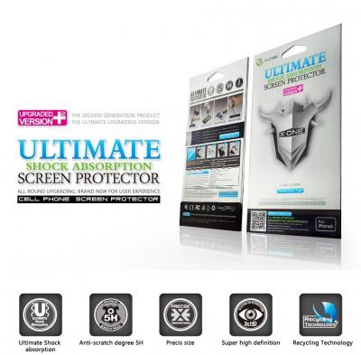Folii folie de protectie clara X-ONE ULTIMATE antisoc pentru HTC ONE MINI M4 ! foto