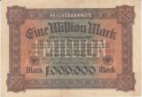 Bancnota Germania 1.000.000 Marci 1923 - P86a VF++ (valoare catalog VF= $25)