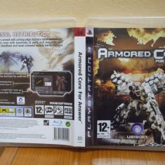 Armored Core: For Answer (PS3) (ALVio) + sute de alte Jocuri PS3 Ubisoft ( VAND SCHIMB ), Actiune, 12+