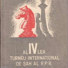 S. Samarian -Al IV Turneu de sah al RPR- carte sah, Alta editura