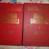 Chirurgia ginecologica ( 2 volume/ cu numeroase figuri/ 1152 pagini)-Panait Sirbu, Ion Chiricuta, Dan Setlacec, Aristide Pandele - Carte Obstretica Ginecologie