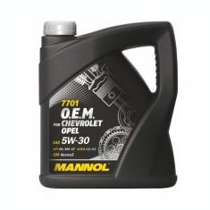 MANNOL O.E.M. Chevrolet Opel SAE 5W-30, 4L - Ulei motor