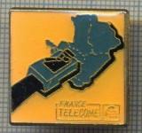 1693 INSIGNA - FRANCE TELECOME -UNA DIN CELE MAI MARI COMPANII DE TELECOMUNICATII DIN LUME  -starea care se vede