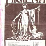 Revista Higiena - anul 1912 numarul 22