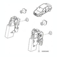 BROASCA USA FATA STANGA. ELECTRICA DACIA LOGAN SANDERO - Usi auto