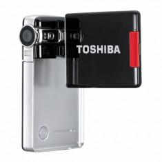 Camera Video HD Toshiba Camileo S10, 2-3 inch, Card Memorie, CCD, Sub 10x