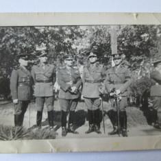 FOTO OFITERI ANII 30 - Fotografie veche