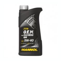 MANNOL O.E.M. Daewoo GM SAE 5W-40, 1L - Ulei motor