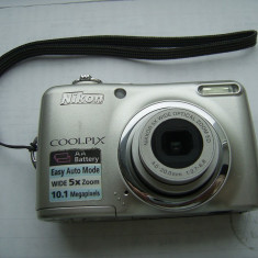 NIKON COOLPIX L 23, ARE 10 0, 1 MEGAPIXELS, 5 X ZOOM, DEFECT ! - Aparate foto compacte